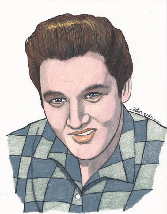 Elvis Presley par aaronmark